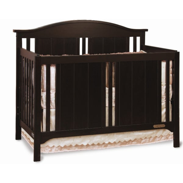 Child Craft Watterson 4-in-1 Jamocha Convertible Crib
