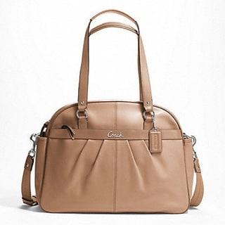 Coach 'Addison' Leather Baby Bag Tote
