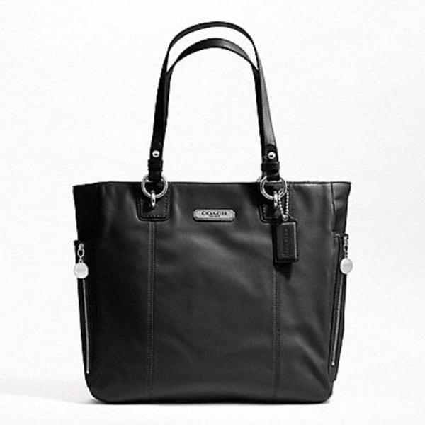 Coach Gallery Leather Zipper Tote