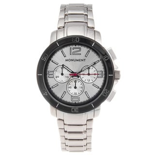 Monument Men's Stainless Steel Casual Sport Watch