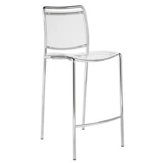 Stefie Clear Pro Counter Chairs (Set of 2)