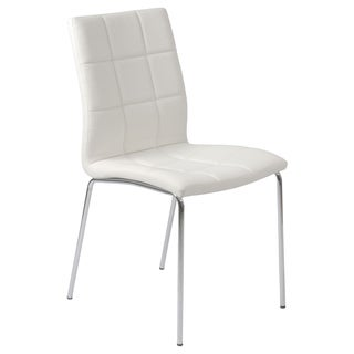 Cyd White Side Chairs (Set of 4)