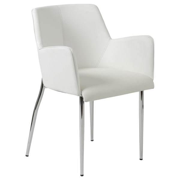 Sunny White Armchairs (Set of 2)