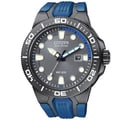 Citizen Men's 'Scuba Fin' Eco-drive Blue Polyurethane Strap Watch