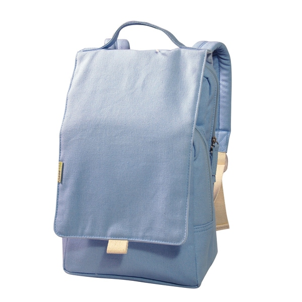 Dually Solid Blue 12-inch Kids Backpack
