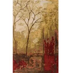 Hand-tufted Monet Autum Multi Rug (3'6 x 5'6)