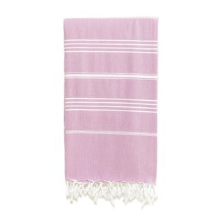 Authentic Fouta PurpleTurkish Cotton Bath and Beach Towel