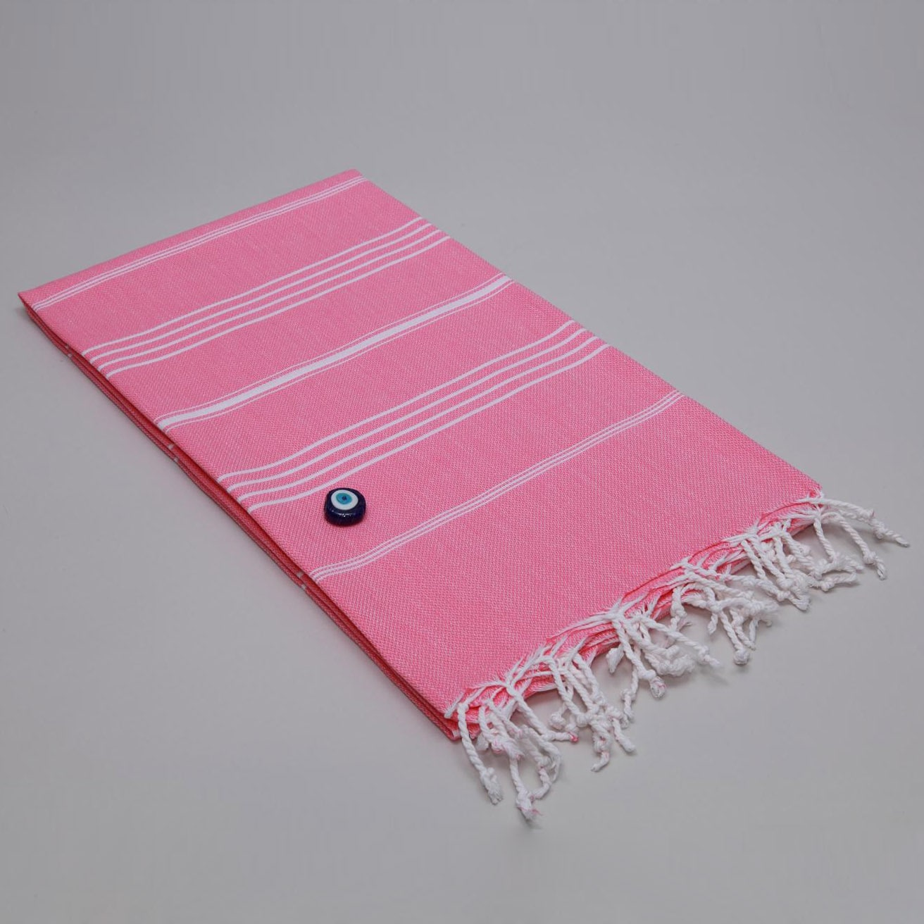 Authentic Fouta Pink Turkish Cotton Towel