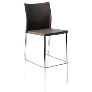 Brown Yeva Bar Chair (Set of 2)