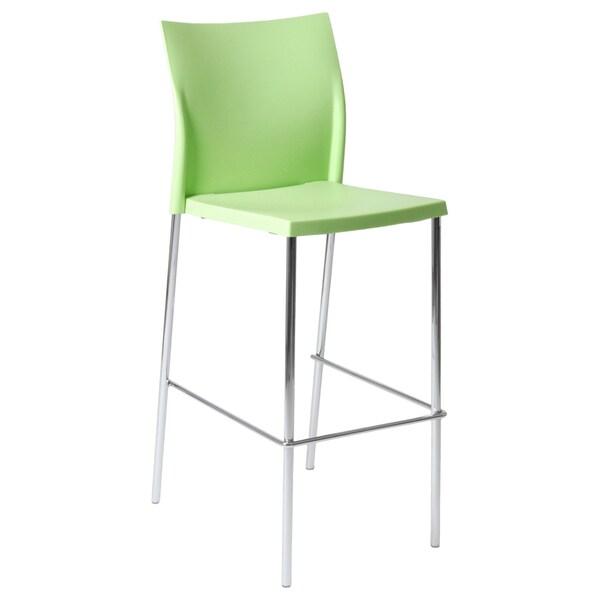 Green Yeva Bar Chair (Set of 2)