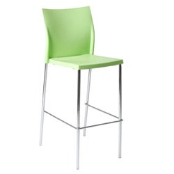 Green Yeva Bar Chair (Set of 2)