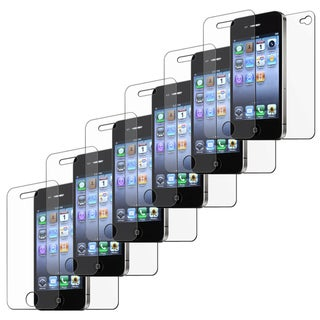 BasAcc Anti-glare Screen Protector  for Apple iPhone 4/ 4S (Pack of 6)