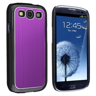 BasAcc Brushed Aluminum Rear Snap-on Case for Samsung Galaxy S III/ S3