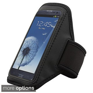 BasAcc Black Armband for Samsung Galaxy S III/ S3