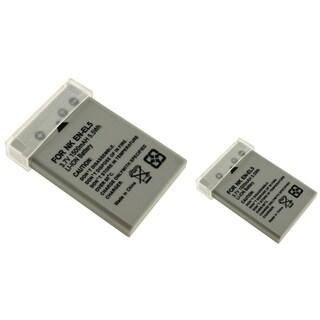 INSTEN Battery for Nkon EN-EL5/ CoolPix 3700/ 4200/ 5200 (Pack of 2)