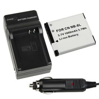 BasAcc Battery/ Chargers for Canon PowerShot A3000/ A3100/ NB-8L