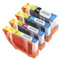 INSTEN Black/ Color Ink Cartridge Set for Canon Pixma MX700