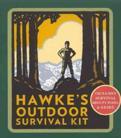 Hawke's Outdoor Survival Kit: Includes Survival Multi-Tool & Guide (Paperback)