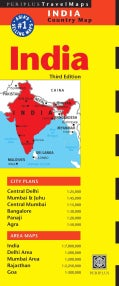 Periplus Travel Maps India (Sheet map, folded)
