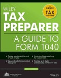 Wiley Tax Preparer: A Guide to Form 1040 (Paperback)