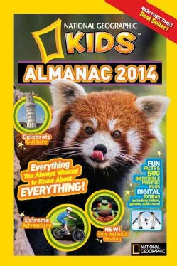 National Geographic Kids Almanac 2014 (Hardcover)