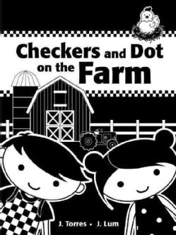 Checkers and Dot on the Farm (Board book)