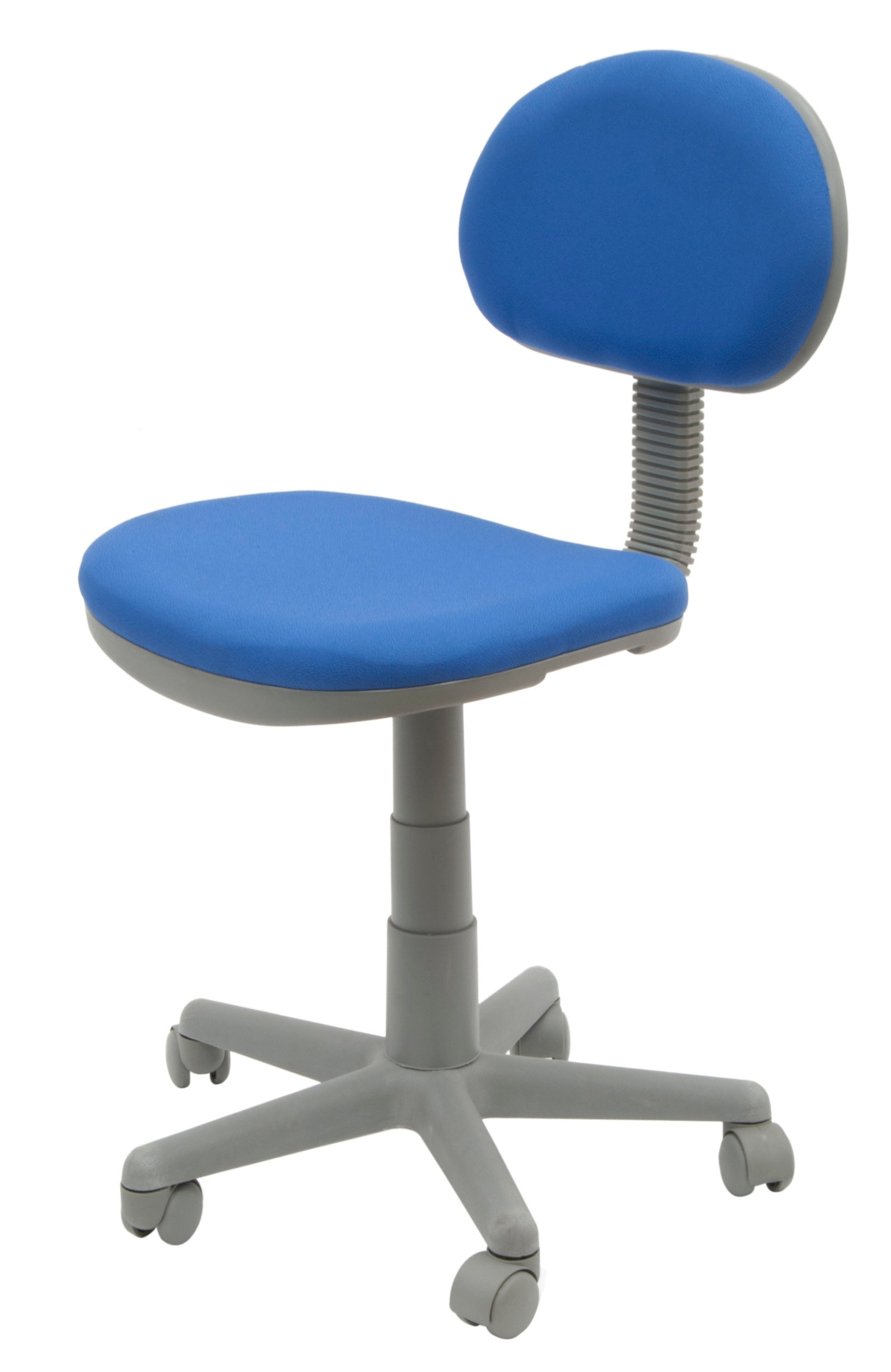 Studio Designs Blue/Gray Adjustable-seat Deluxe Office/Task Chair