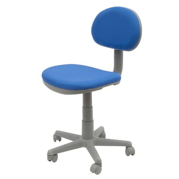 Studio Designs Blue/Gray Adjustable-seat Deluxe Office/Task Chair