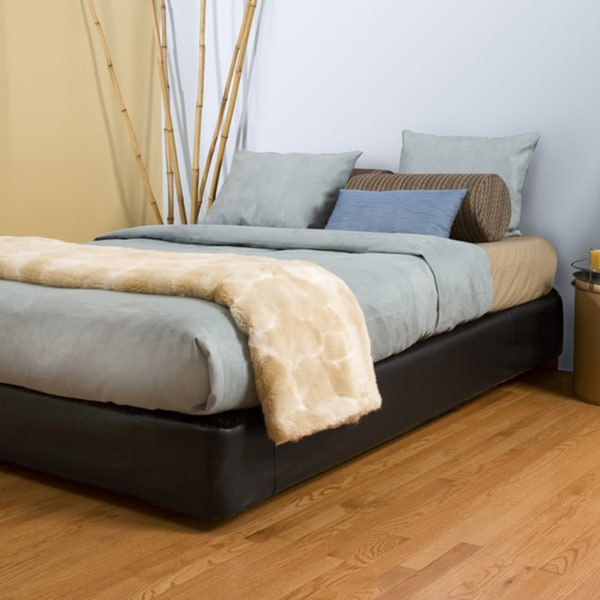 King-size Black Platform Bed Kit