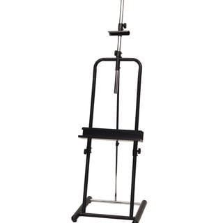 Studio Designs Deluxe Black Easel with Telescope Tilt Adjustment