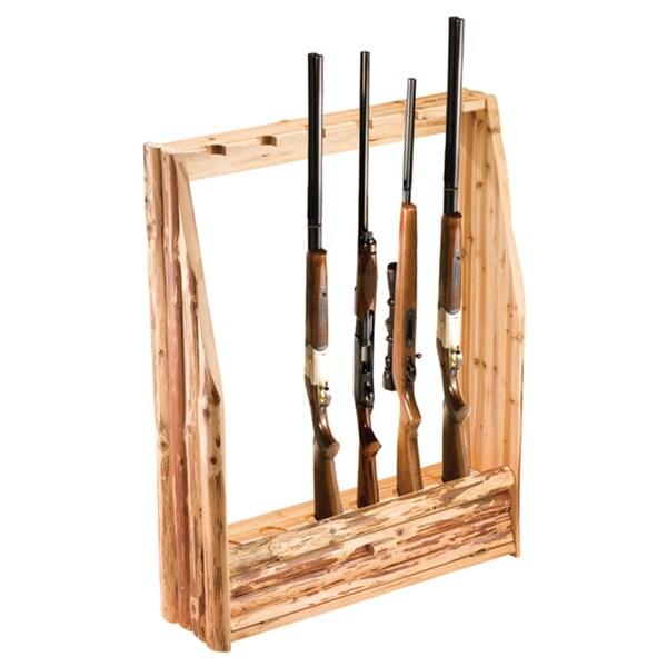 Rush Creek 6-Gun Rack with Storage