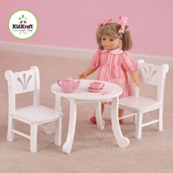 KidKraft Lil Doll Table and Chair Play Set