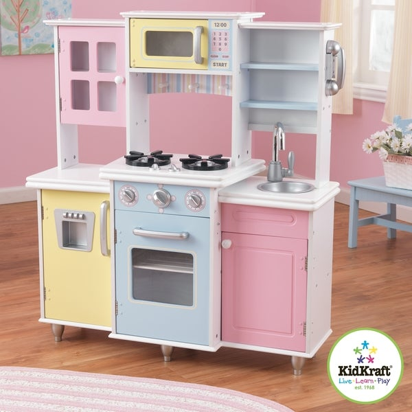 Kidkraft master 39 s cook kitchen play set 14668196 for Best kitchen set for 4 year old