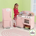 KidKraft Pink Retro Kitchen and Refrigerator