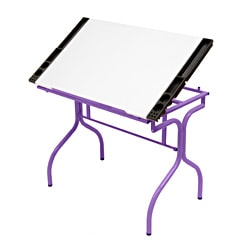 Studio Designs Folding Craft Station Purple / White