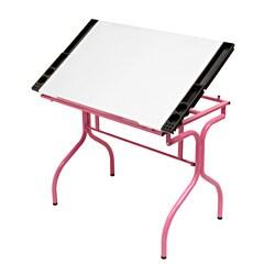 Studio Designs Pink / White Folding Craft Station