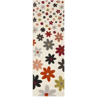 Porcello Daisies Ivory Rug (2'4 x 6'7)