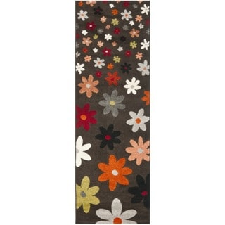 Porcello Daisies Brown Rug (2'4 x 6'7)