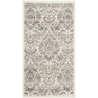Safavieh Porcello Damask Ivory/ Grey Rug (2' x 3'7)