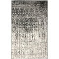 Safavieh Deco Inspired Black/ Grey Rug (6' x 9')