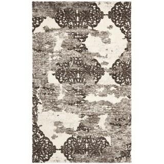 Safavieh Deco Inspired Beige/ Light Grey Rug (6' x 9')