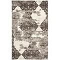 Deco Inspired Beige/ Light Grey Rug (6' x 9')