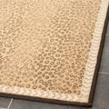 Metropolis Leopard Beige/ Brown Rugs (Set of 3)