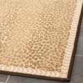 Safavieh Metropolis Leopard Beige/ Brown Rugs (Set of 3)
