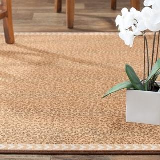 Safavieh Metropolis Leopard Beige/ Brown Rug (5'3 x 7'11)
