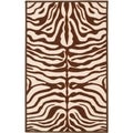 Metropolis Tiger Cream/ Brown Rug (3'3 x 5')