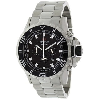 Precimax Men's Carbon Pro Stainless Steel Watch