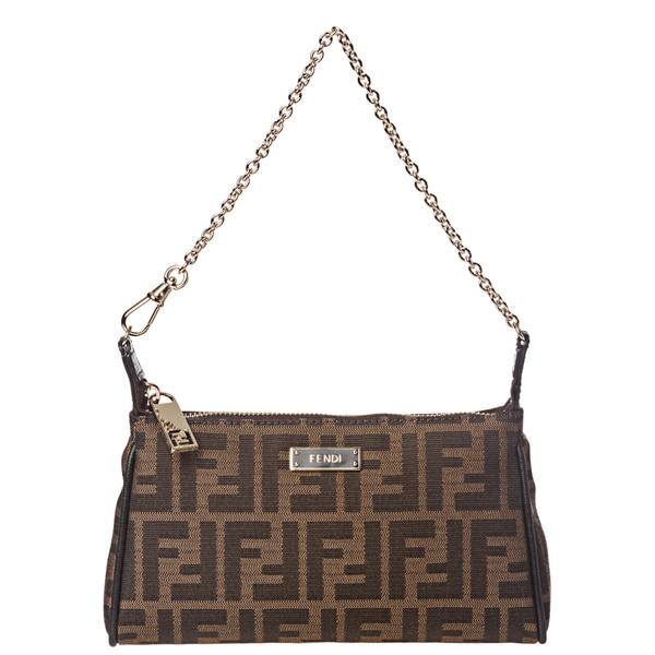 Fendi Zucca Mini Shoulder Bag