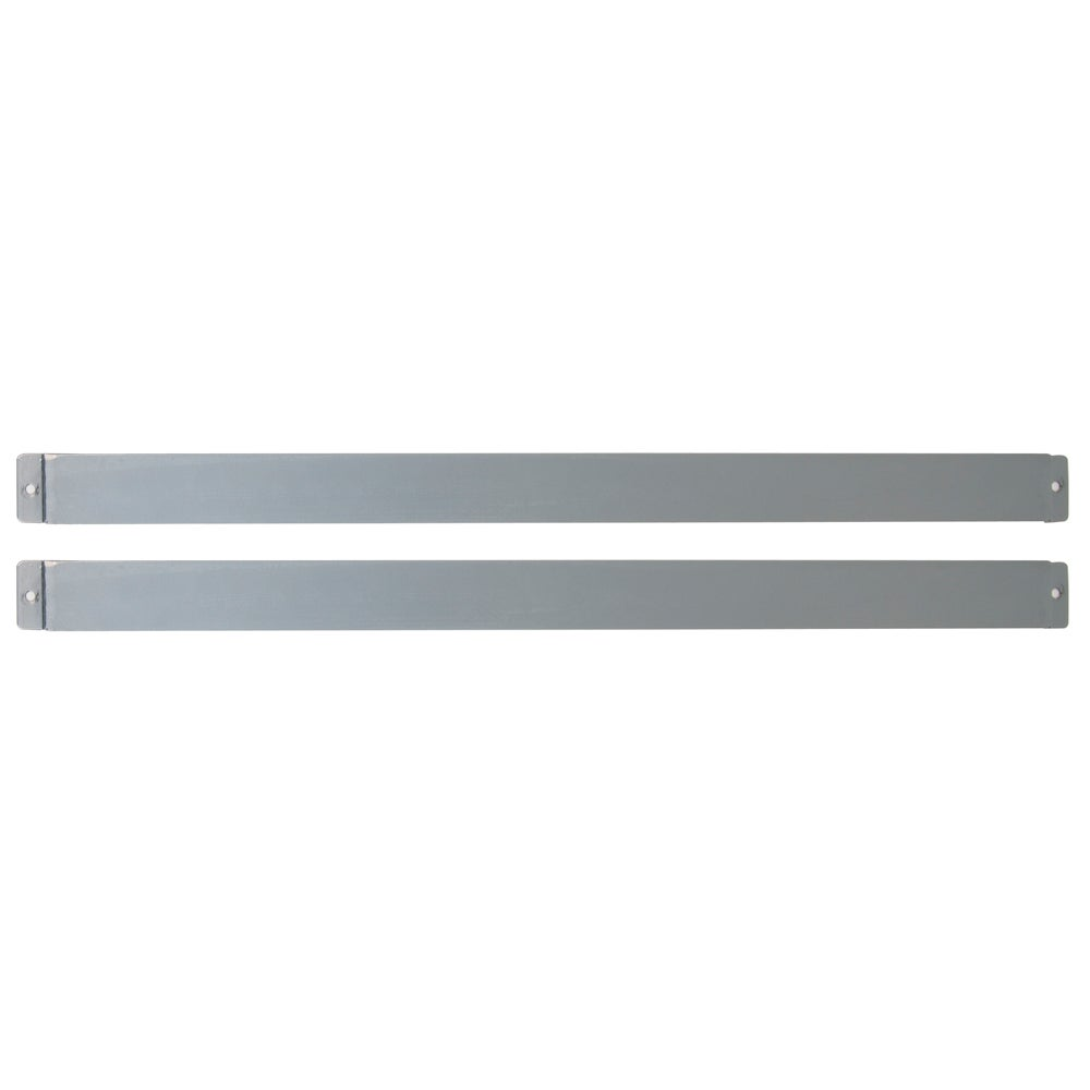 Studio Designs Silver Metal Drafting Table Light Pad Support Bars