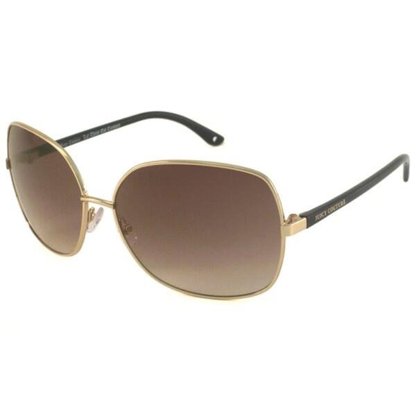 Juicy Couture Women's 'Rhythm' Rectangular Sunglasses